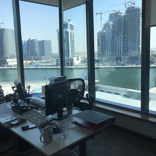 Multiple Cheques Furnished Office Space-Lake View