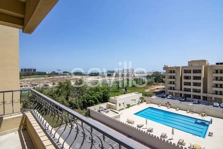 1 Bedroom Flat for Rent in Al Hamra Village, Ras Al Khaimah - Beautiful Golf apartment with No commission