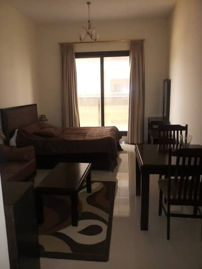 Studio for Rent in Dubai Sports City, Dubai - FULLY FURNISHED STUDIO IN ELITE 10 @ 25K