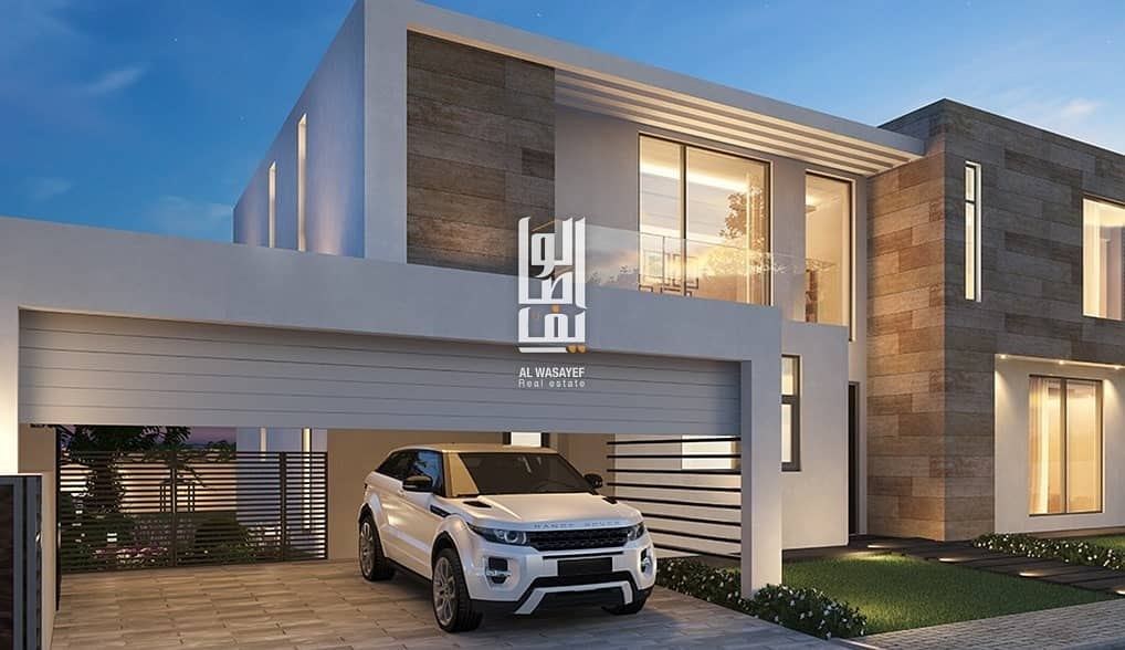 2 Most Luxury villa in the heart of Sharjah.! 5% DP| Forever 0% Service charge