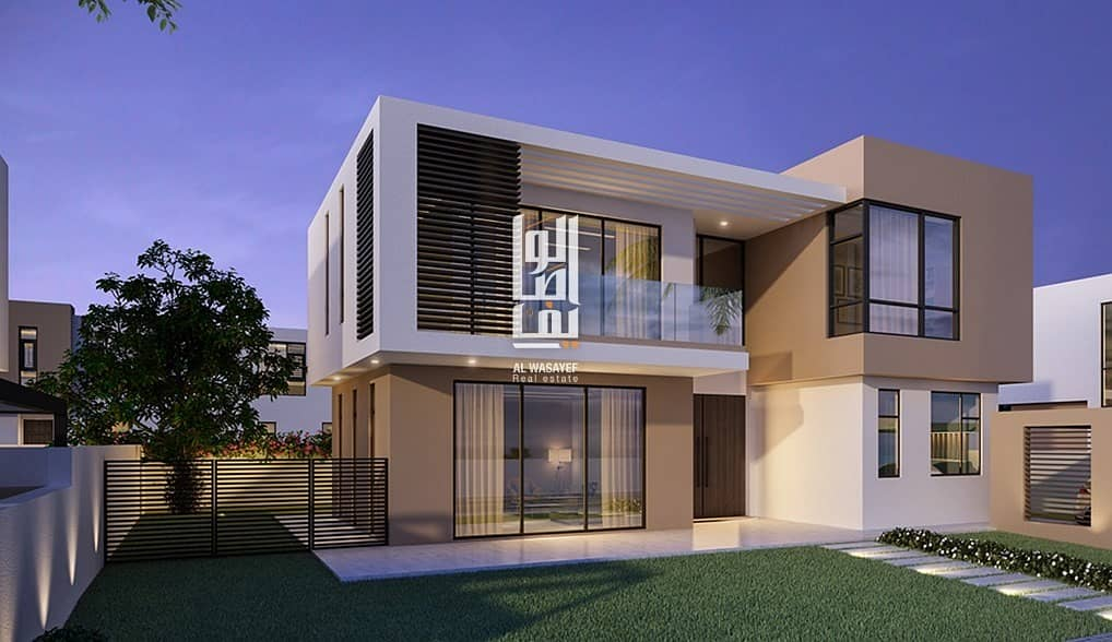 Most Luxury villa in the heart of Sharjah.! 5% DP| Forever 0% Service charge