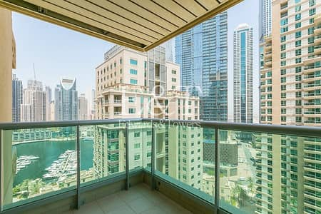 3 Bedroom Apartment for Rent in Dubai Marina, Dubai - Largest 3 Bedroom | Unfurnished on Middle Floor