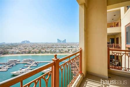 فلیٹ 2 غرفة نوم للبيع في نخلة جميرا، دبي - Vacant on Transfer || High Floor C Type