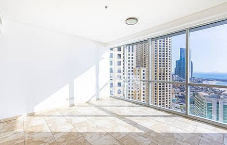 3 Bedroom Flat for Sale in Jumeirah Beach Residence (JBR), Dubai - Rare 3 Bed plus Maids with Dubai Eye View