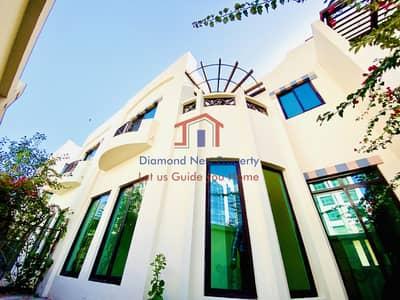 فیلا 4 غرف نوم للايجار في الخالدية، أبوظبي - Prestigious I 12 Cheques I Four Bedroom Villa I Khalidiyah Village