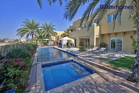 6 Bedroom Villa for Sale in Arabian Ranches, Dubai - Golf Course View | Private Pool | 6 Bedrooms
