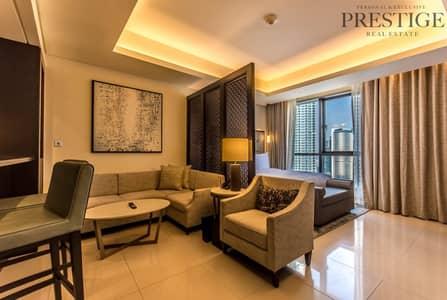 استوديو  للبيع في وسط مدينة دبي، دبي - Studio  for sale at the Address Downtown | High Floor
