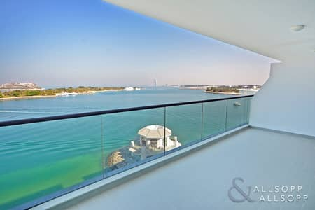 1 Bedroom Flat for Sale in Palm Jumeirah, Dubai - Full Sea View | Vacant | Immaculate | 1 BR