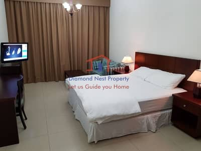 Studio for Rent in Al Nahyan, Abu Dhabi - Furnished Studio APT including Utilities in Al Nahyan