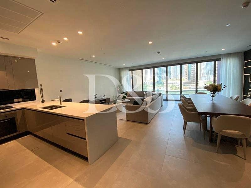 10 Jumeirah Branded Duplex Villa | Full Marina View