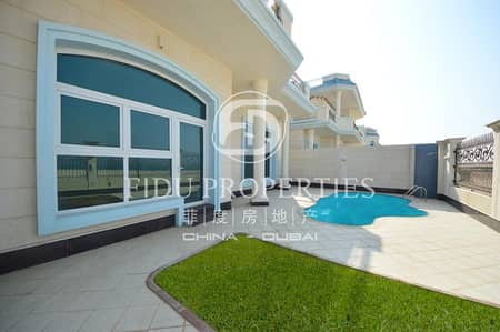 5 Bedroom Villa for Rent in Umm Suqeim, Dubai - Direct Beach Access To The Sea   A Must See
