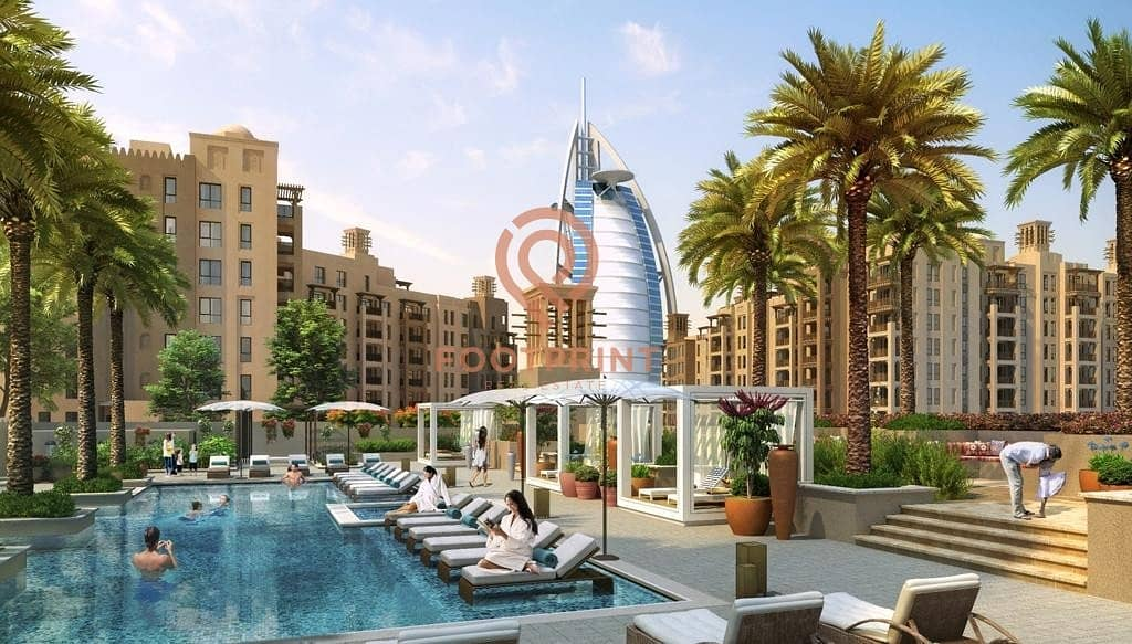 2 Only Free Hold Project In Jumeirah  | Courtyard Facing | Close to Beach