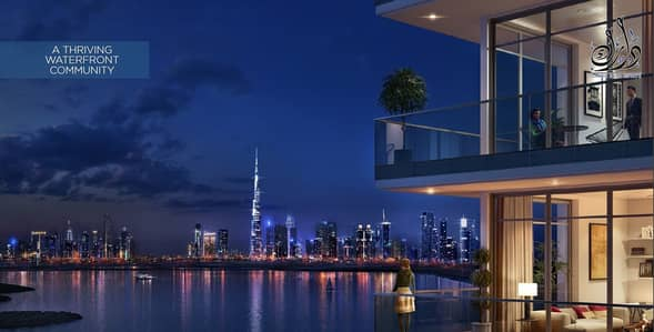 4 Bedroom Penthouse for Sale in The Lagoons, Dubai - Pay 10% and Own your luxury penthouse Burj Khalifa and Creek Tower View!