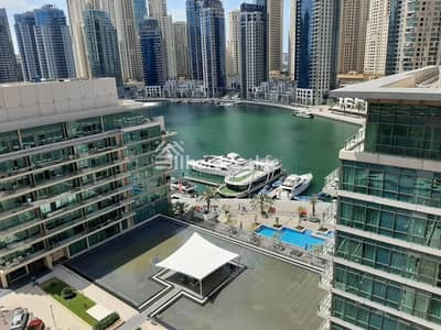 3 Bedroom Flat for Rent in Dubai Marina, Dubai - MARINA VIEW | 3 BED + STUDY | CHILLER FREE