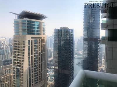 3 Bedroom Flat for Sale in Dubai Marina, Dubai - High Floor 3 Bed | Vacant | Marina View.