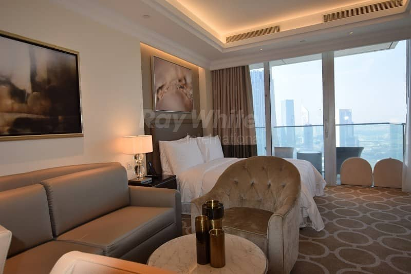 Fully Furnished Serviced Studio I Stunning DIFC View