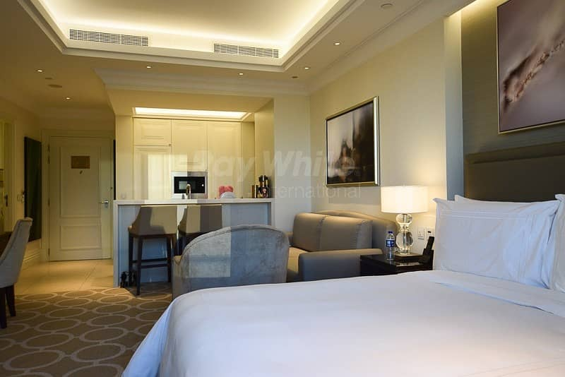 2 Fully Furnished Serviced Studio I Stunning DIFC View