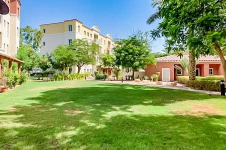 2 Bedroom Flat for Rent in Green Community, Dubai - 2 Bed + Study | Ground Floor |  West Garden Apt