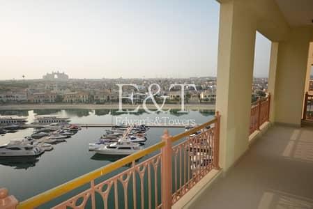 شقة 3 غرف نوم للايجار في نخلة جميرا، دبي - B type