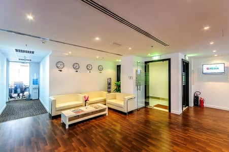 Office for Rent in Jumeirah Lake Towers (JLT), Dubai - SERVICED OFFICE | JLT