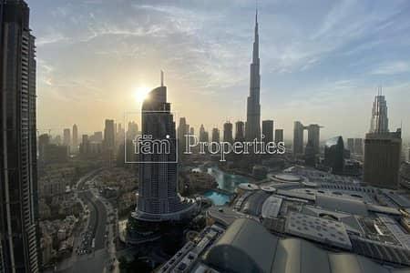 شقة 3 غرف نوم للبيع في وسط مدينة دبي، دبي - FULL Fountain Facing 3BR+M Lowest Price Mid Floor!