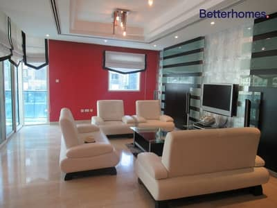 2 Bedroom Flat for Rent in Dubai Marina, Dubai - Spacious | Maid's & Storage | Furnished | Chiller Free
