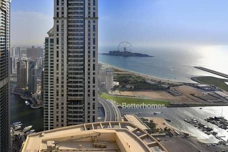 فلیٹ 4 غرف نوم للبيع في دبي مارينا، دبي - Stunning Sea Views | Vacant on Transfer