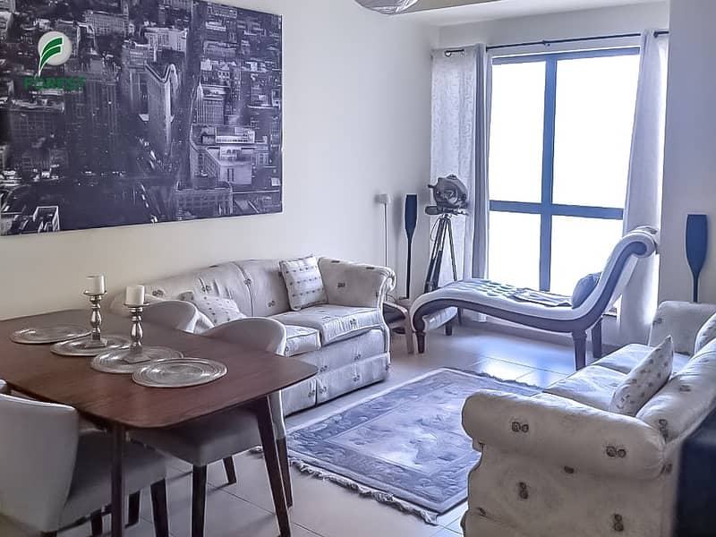 Fully Furnished |2 Beds |Partial Sea View | Vacant