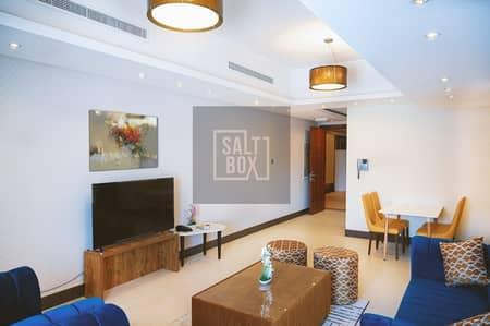 شقة فندقية 2 غرفة نوم للايجار في جميرا، دبي - Promotional Rate | Bills Included | Furnished