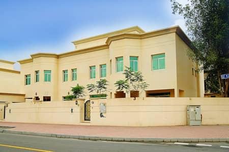Spacious 5 bedroom plus maid villa in Jumeirah 2, One month free ,6 chq