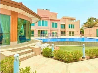 6 Bedroom Villa for Rent in Al Hamra Village, Ras Al Khaimah - Luxury Beachfront Villa | Furnished | 6 BR