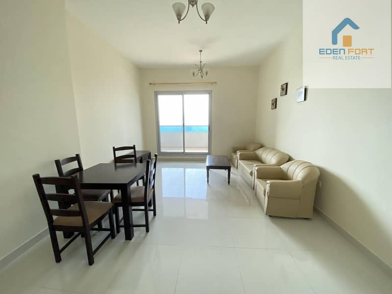 2 Well maintained Fully Furnished One Bedroom Flat