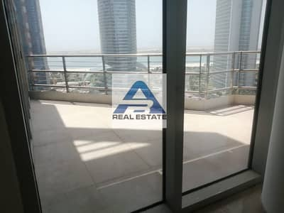 4 Bedroom Apartment for Rent in Corniche Road, Abu Dhabi - Sea View ! Big Balcony ! Four BHK ! Parking