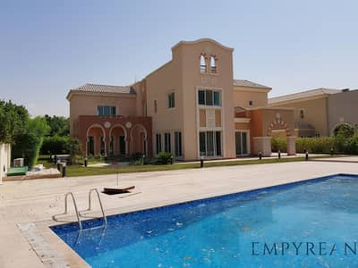 6 Bedroom Villa for Rent in Dubai Sports City, Dubai - 6 Bed Villa next to Golf Course with Large Pool - A Type