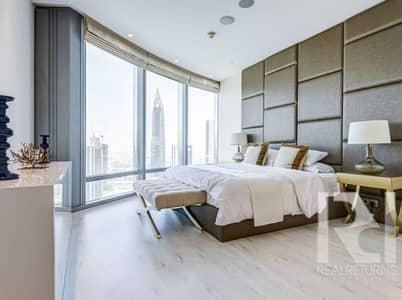 فلیٹ 2 غرفة نوم للايجار في وسط مدينة دبي، دبي - Make this World Icon Your Next Address