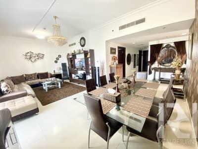 شقة 2 غرفة نوم للبيع في أبراج بحيرات الجميرا، دبي - Rare 2bed + Maids in V3   Super Spacious with Lake View