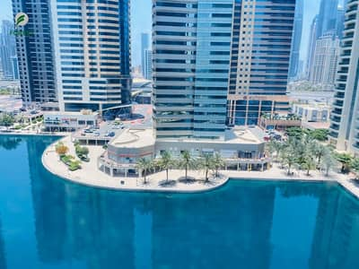 2 Bedroom Apartment for Rent in Jumeirah Lake Towers (JLT), Dubai - Spacious | 2 BR | Lake View | Unfurnished
