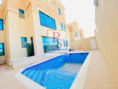 فیلا 6 غرف نوم للايجار في آل نهيان، أبوظبي - Spacious 6BR Villa with Pool and Backyard