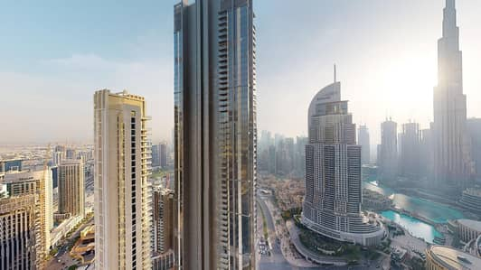 2 Bedroom Flat for Rent in Downtown Dubai, Dubai - High floor | Burj Khalifa views | Free wifi