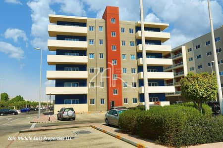1 Bedroom Flat for Rent in Al Reef, Abu Dhabi - Ground Floor 1 BR Apt type A with Terrace and Rental Back