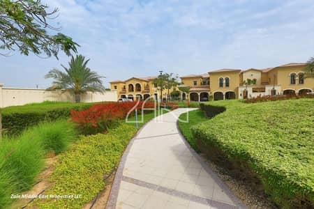 4 Bedroom Townhouse for Sale in Saadiyat Island, Abu Dhabi - Luxurious Large 4 BR Townhouse with Lovely Garden