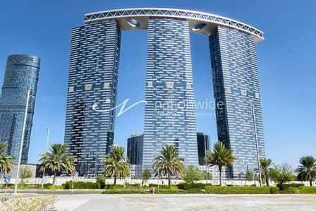 فلیٹ 3 غرف نوم للايجار في جزيرة الريم، أبوظبي - Breathtaking Fully Furnished Unit In Gate Tower