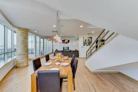 4 Bedroom Penthouse for Rent in Dubai Marina, Dubai - SOPHISTICATED MODERNIZED PENTHOUSE