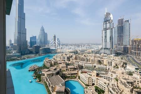 2 Bedroom Apartment for Sale in Downtown Dubai, Dubai - Biggest 2 bedroom layout   Study Area   Full Burj Khalifa views