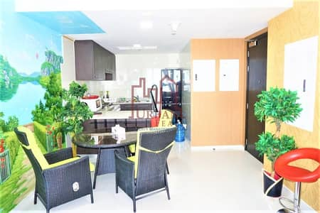 1 Bedroom Apartment for Rent in Ajman Downtown, Ajman - Move in! Fully furnished 1BR w/ 2chqs