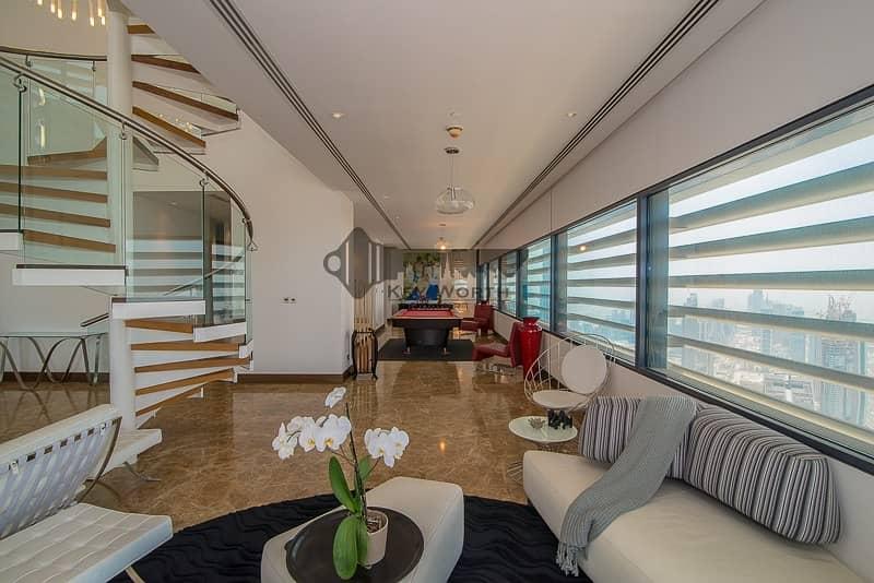 2 Stunning & Luxuries Penthouse | Fully upgraded & furnished | Burj Khalifa & Skyline view