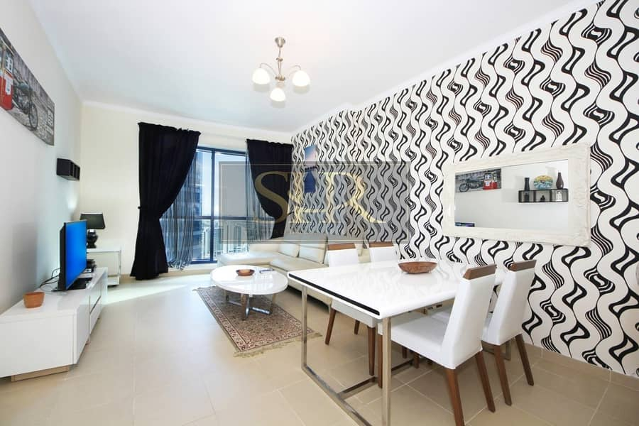 12 Cheques | Furnished Duplex Apt With Lake View