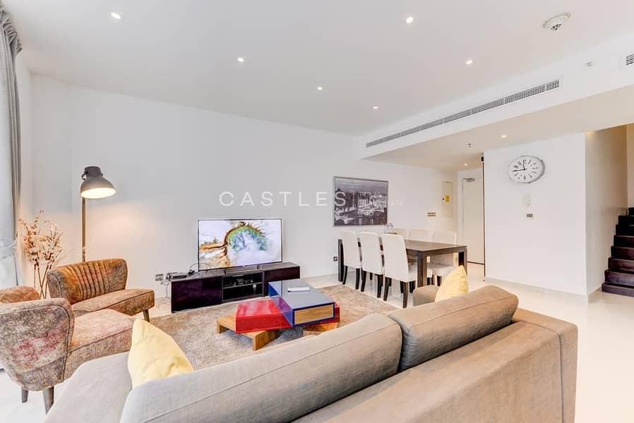 VIPCASTLES | 3BR Duplex Penthouse l Private Pool