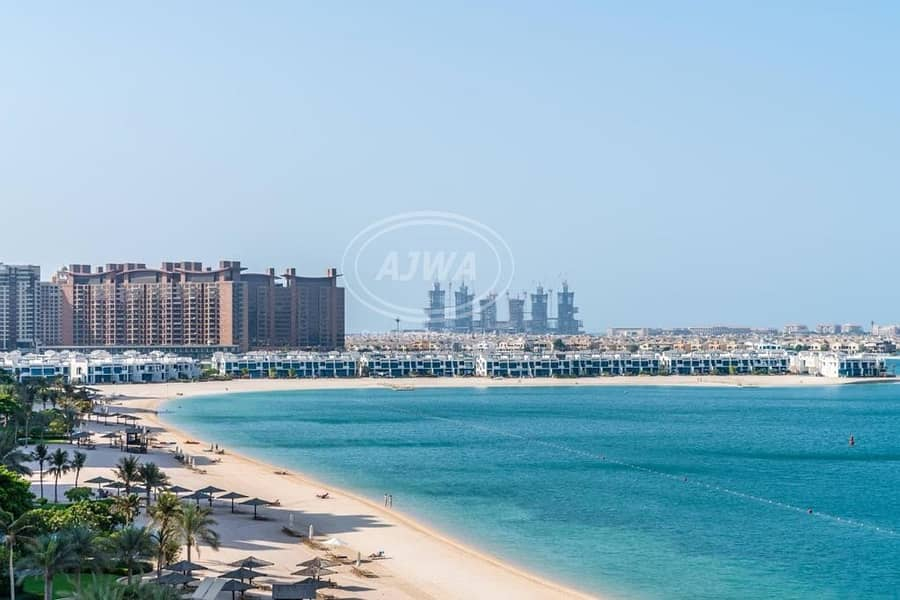 Fantastic full sea view|1  bedroom |Azure residences Palm jumeira