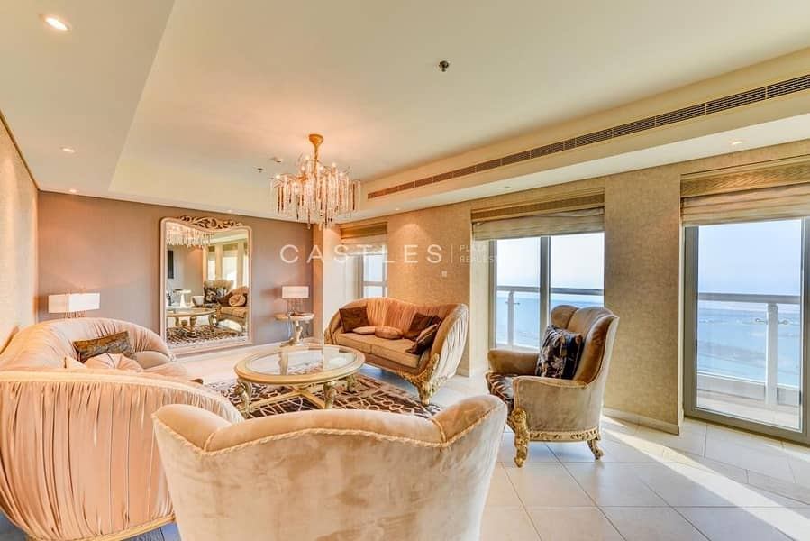2 Marvelously Furnished Full Sea & Skyline View